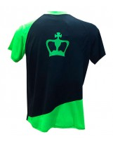 CAMISETA BLACK CROWN DELFOS NEGRO/VERDE
