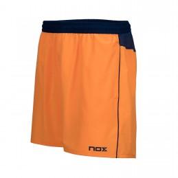 NOX Polo Pro Azul Marino con Logo Naranja